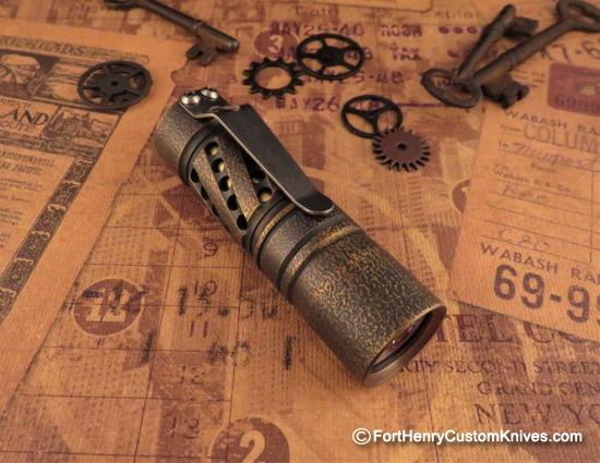 Barrel Flashlight Helical